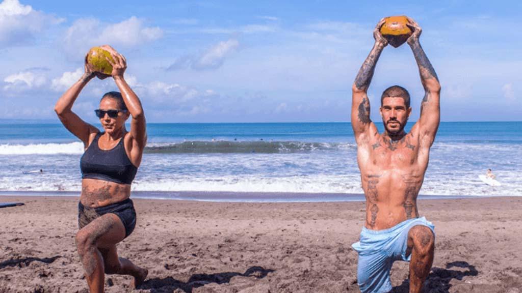 S2S CrossFit am Strand - Fitnessurlaub mit Reiseathleten auf Bali