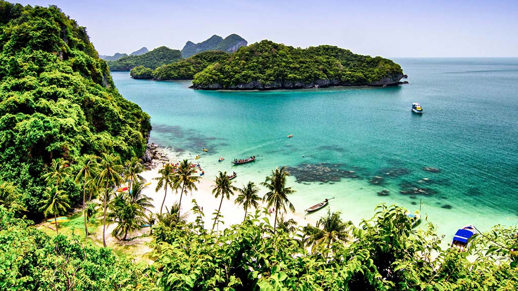 Anthong National Marine Park - Fitnessurlaub Koh Samui
