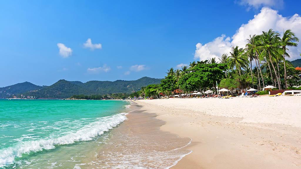 Chaweng Beach - Superpro CrossFit Urlaub Koh Samui