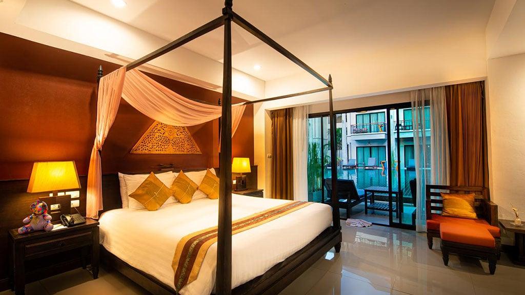 Navatara Phuket Resort Deluxe Zimmer mit Poolzugang 2- Fitnessreisen für Reiseathleten