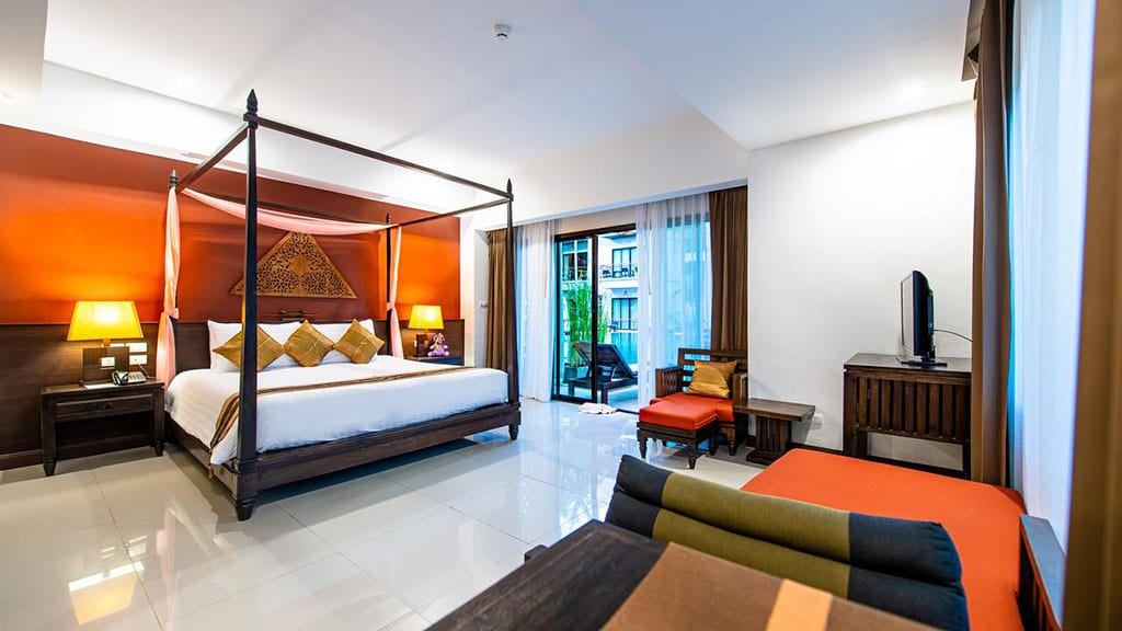 Navatara Phuket Resort Deluxe Room mit Poolzugang - Fitnessreisen für Reiseathleten