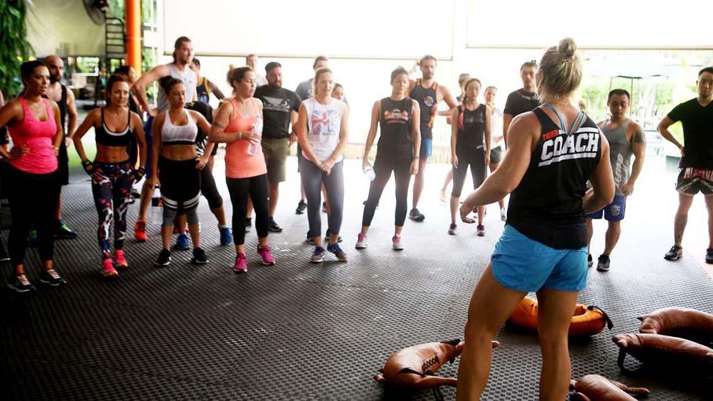 Tiger Muay Thai - Trainer und CrossFit Chalong Gruppe