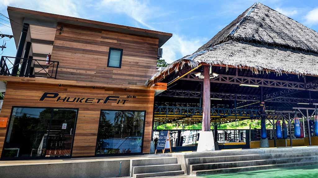 Trainingsgelände & Shop -PhuketFit - Fitnessurlaub Phuket, Thailand - Fitnessurlaub fuer Reiseathleten