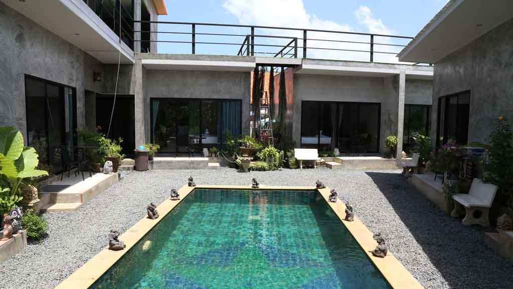 Deluxe Zimmer - Direkter Poolzugang - Fitnessurlaub mit Reisathleten in Thailand