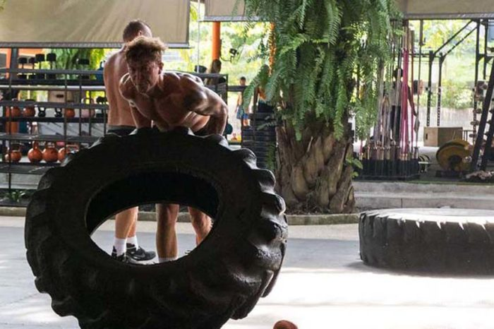 CrossFit Chalong & Fitness im Tiger Muay Thai Camp in Phuket, Thailand