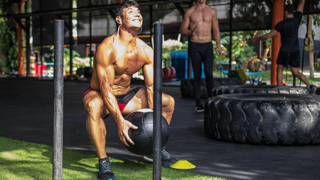 Tiger Muay Thai CrossFit Chalong Workout - WOD Fitness Urlaub - Fitnessreisen mit Reiseathleten