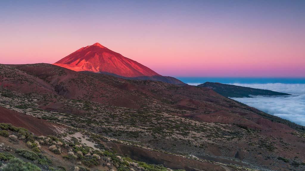 Pico del Teide - Sonnenaufgang - CrossFit 27 & CrossFit Survive Top Training Urlaub auf Teneriffa - Fitnessurlaub mit Reiseathleten