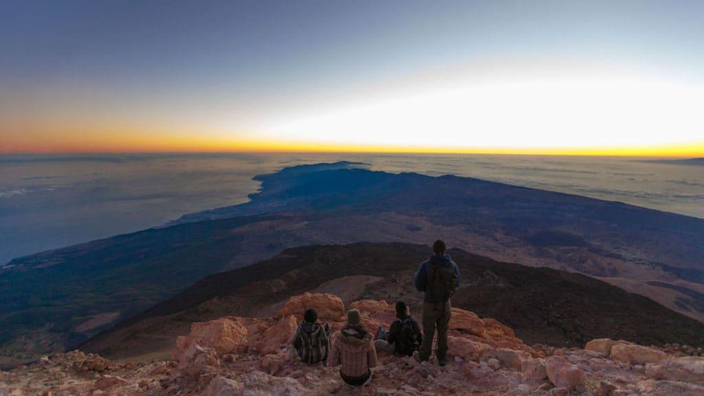 Pico del Teide - Blick - CrossFit 27 & CrossFit Survive Top Training Urlaub auf Teneriffa - Fitnessurlaub mit Reiseathleten