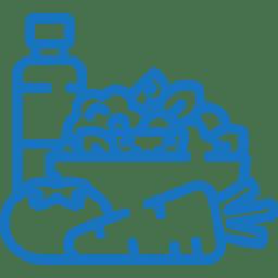 Gesunde Ernährung - Icon - Fitnessurlaub fur Reiseathleten