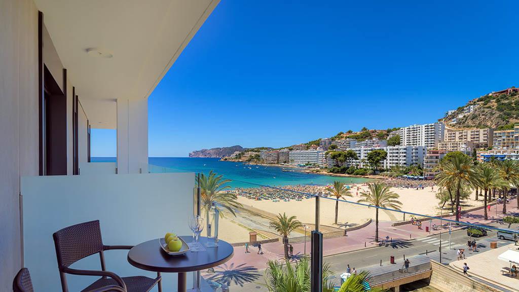 H10 Casa del Mar - Balkonsicht - Fitness Urlaub - Fitnessreisen mit Reiseathleten