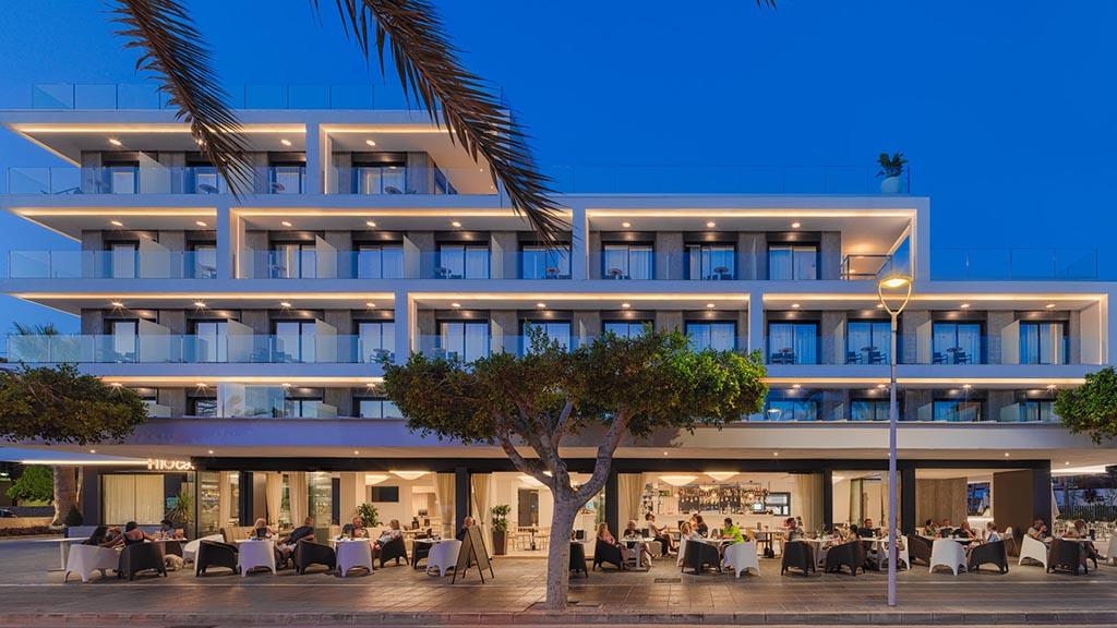 H10 Casa del Mar - Haupteingang vom Hotel - Fitness Urlaub - Fitnessurlaub mit Reiseathleten