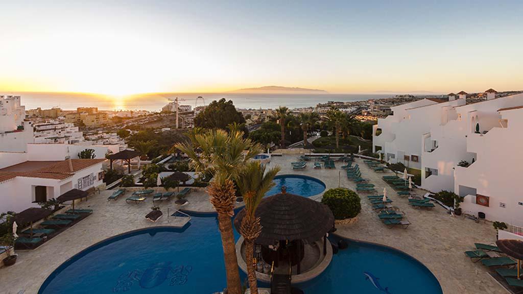 Regency Torviscas Apartments - Cross Fitness Urlaub auf Teneriffa - Sonnenuntergang - Cross Fitness Urlaub mit Reiseathleten