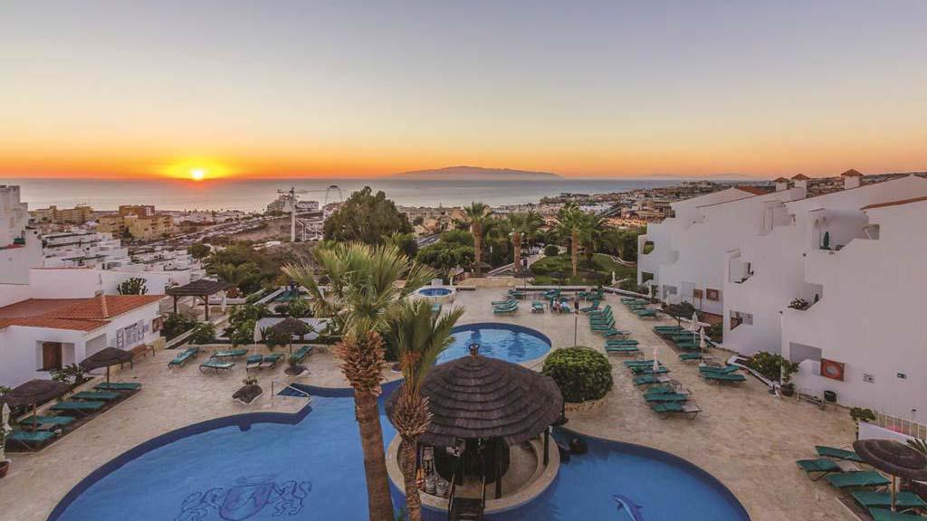 Regency Torviscas Apartments & Suites - Ausblick - Fitnessurlaub auf Teneriffa - Fitnessreisen für Reiseathleten