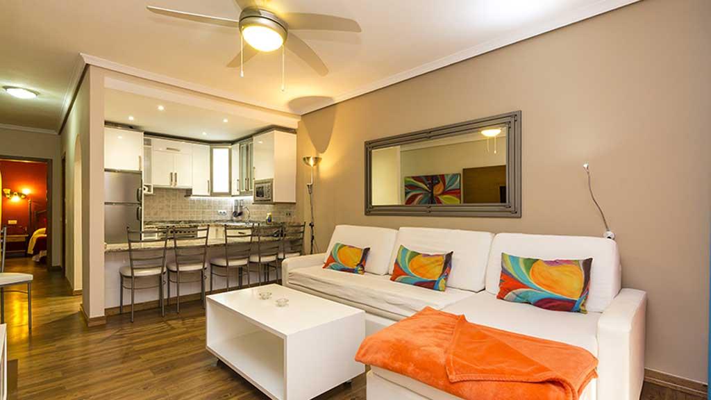 Regency Torviscas Apartments - 1 Zimmer Apartment - Wohnbereich - Cross Fitness Urlaub auf Teneriffa - Cross Fitness Urlaub mit Reiseathleten