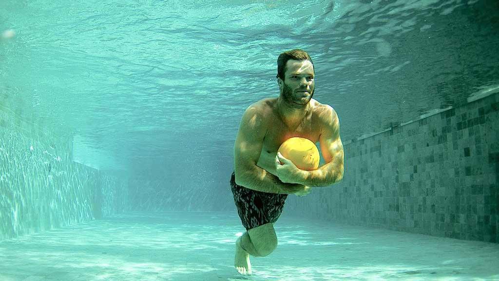 Fitness Pool - Komune Resort & Beach Club auf Bali - Fitnessurlaub auf Bali für Reiseathleten