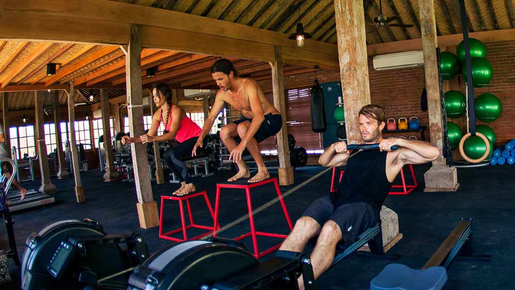 Fitness - Komune Resort & Beach Club auf Bali - Fitnessurlaub auf Bali für Reiseathleten