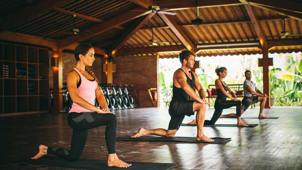 Yoga - Komune Resort & Beach Club auf Bali - Fitnessurlaub auf Bali für Reiseathleten