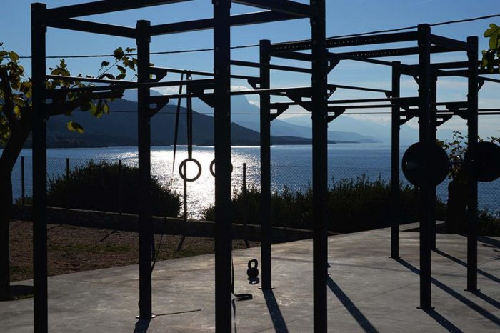 CrossFit Unboxed im Melitsina Village Hotel Kardamili – Fitnessurlaub in Griechenland- 8 Tage