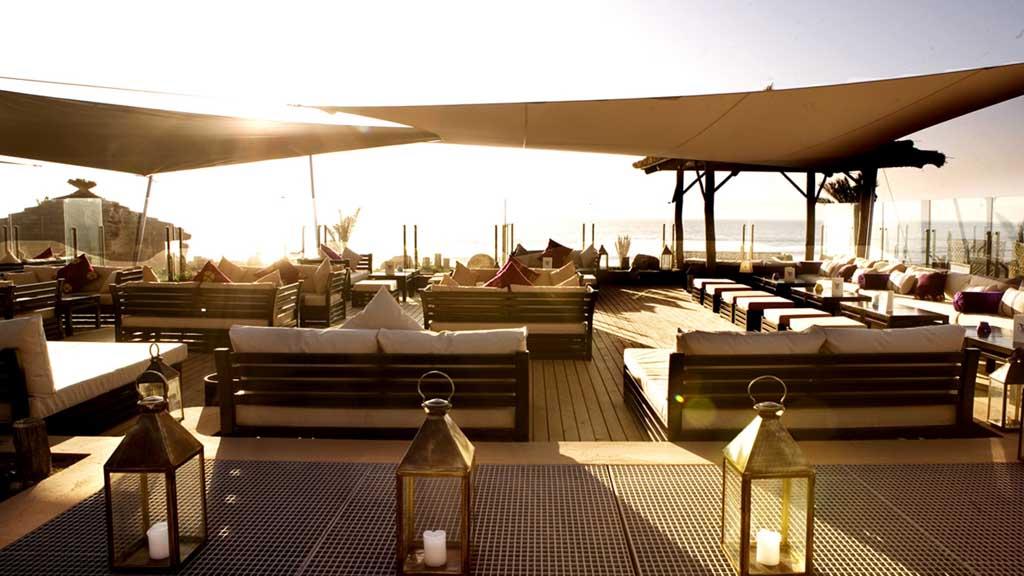 Lounge - Paradis Plage Surf Yoga & Spa Resort - Fitnessurlaub mit Reiseathleten - Marokko Plage