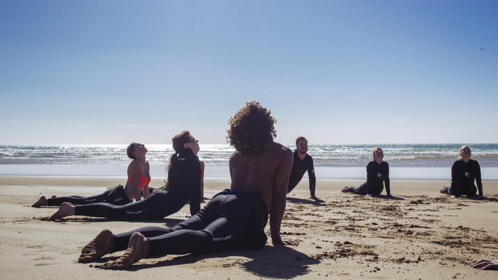 Fitness im Paradis Plage Surf Yoga & Spa Resort - Fitnessurlaub mit Reiseathleten - Marokko Plage
