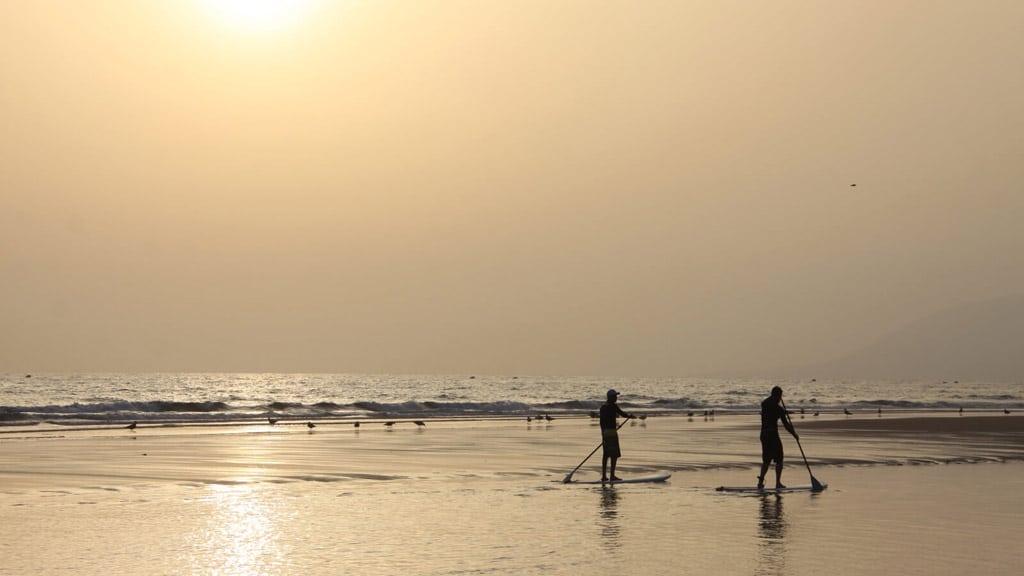 SUP - Paradis Plage Surf Yoga & Spa Resort - Fitnessurlaub mit Reiseathleten - Marokko Plage