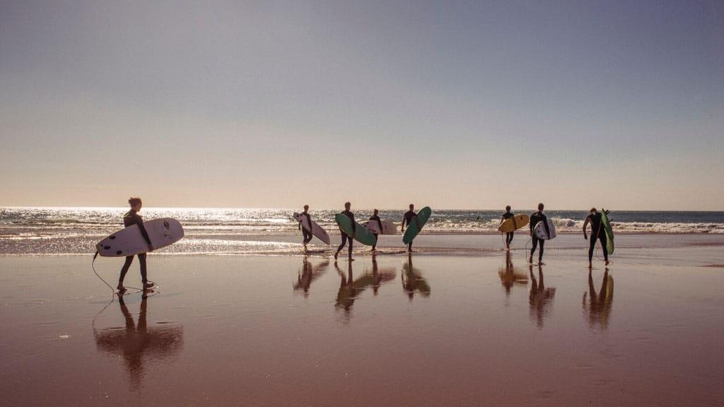 Surfen - Paradis Plage Surf Yoga & Spa Resort - Fitnessurlaub mit Reiseathleten - Marokko Plage