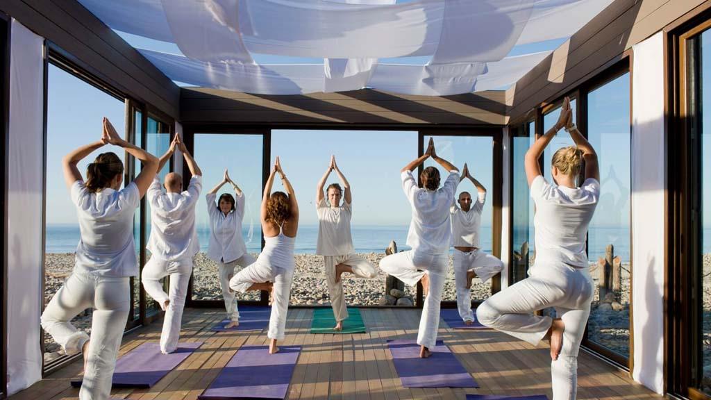 Yoga - Paradis Plage Surf Yoga & Spa Resort - Fitnessurlaub mit Reiseathleten - Marokko Plage
