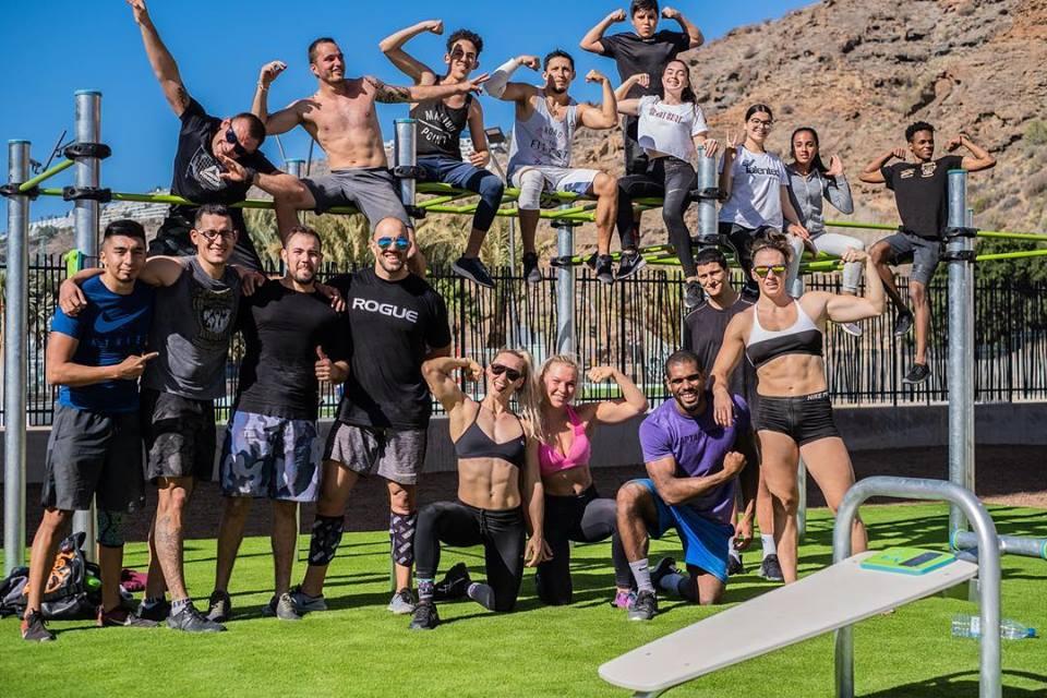 CrossFit Riders -CrossFit Riders Urlaub auf Gran Canaria - Fitnessurlaub für Reiseathleten