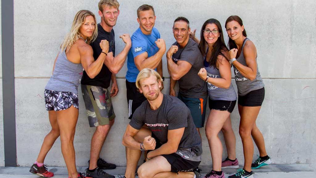 Team von CrossFit Mallorca - Deine Box im Urlaub - Fitness WOD Urlaub - Fitnessreisen mit Reiseathleten