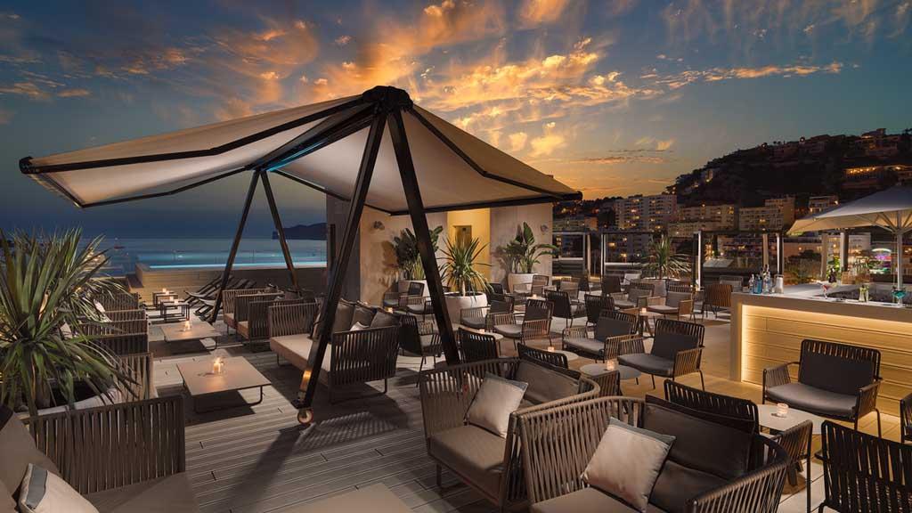 CrossFit Mallorca Urlaub - H10 Casa del Mar - Lounge & Dachterrasse - Fitness Urlaub - Fitnessreisen mit Reiseathleten