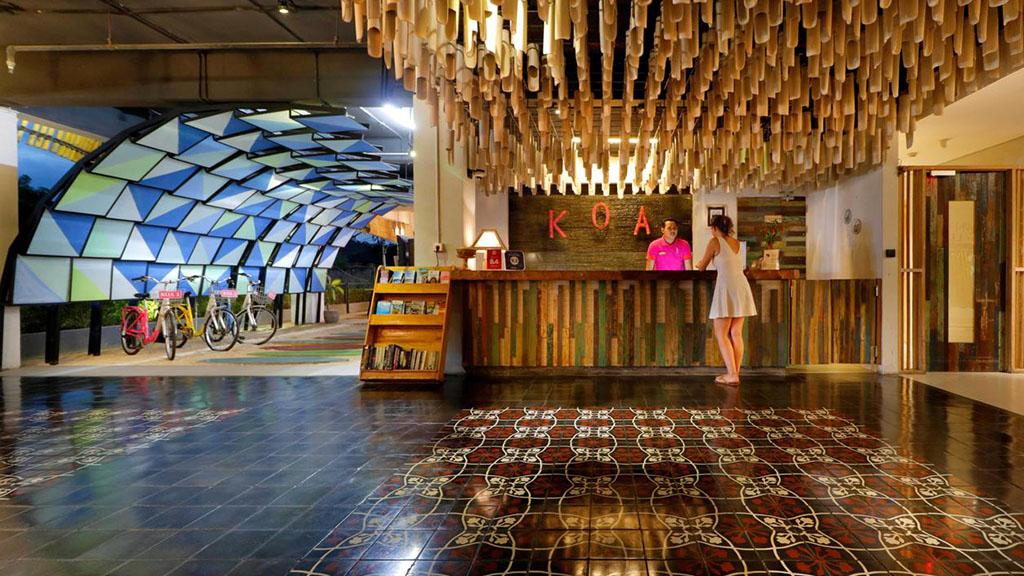 Koa D` Surfer Hotel Lounge - Fitness Urlaub - Fitnessreisen mit Reiseathleten