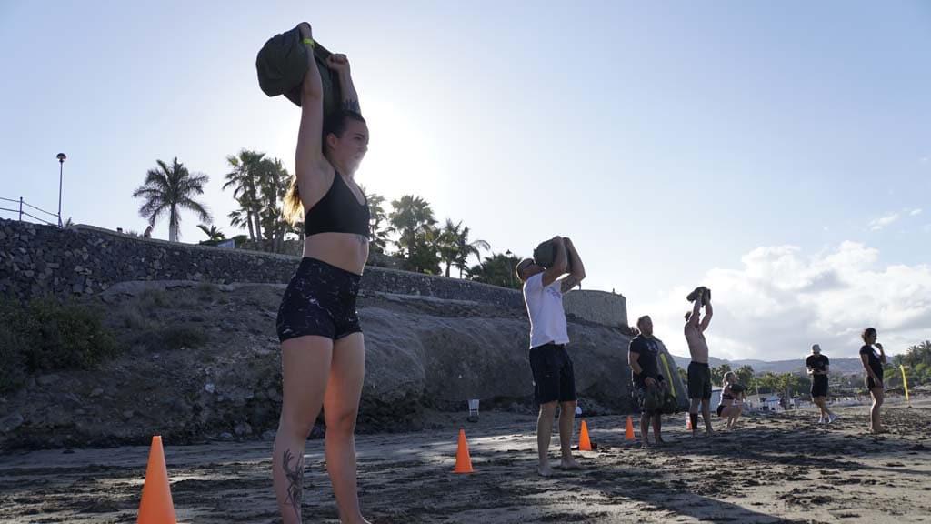 Beach WOD - Tenerife Top Training (T3) - CrossFit Survive - Fitnessurlaub Teneriffa - Fitnessurlaub für Reiseathleten