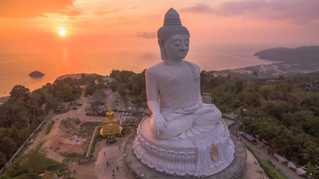 Großer Buddha von Phuket - Fitnessurlaub im Titan Fitness Camp - Fitnessurlaub für Reiseathleten - Fitnessurlaub in Thailand