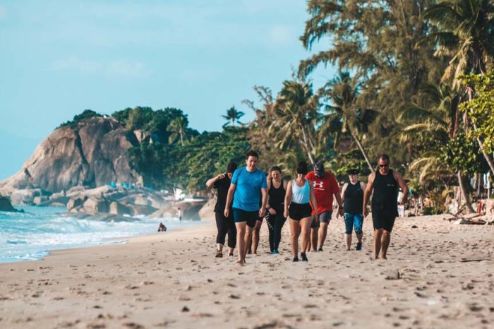 "Totaler Fitness Urlaub auf Koh Samui, Thailand – Premium Strandhotel ""Beach Republic"" & Fitnesscamp ""Koh Fit"" – 29 Tage"