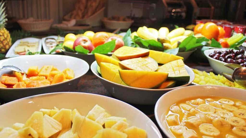Hotel - Frühstück - Hotel Suite Villa Maria - Fitnessurlaub Teneriffa - Fitnessurlaub für Reiseathleten