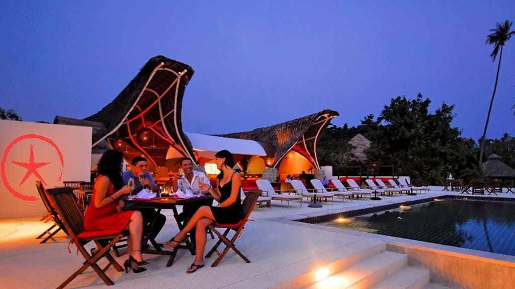 Restaurant & Speisen im Hotel von Beach Republic - Fitnessurlaub Koh Samui - Fitnessreisen für Reiseathleten