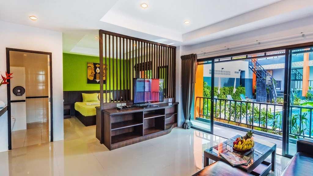 Superior Zimmer im Little Hill Phuket Resort - Deine Unterkunft in deinem Fitnessurlaub im Titan Fitness Camp, Phuket - Fitnessurlaub in Thailand