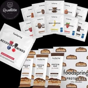 Foodspring Paket - Fitnesspaket für Reisen - Reiseathleten