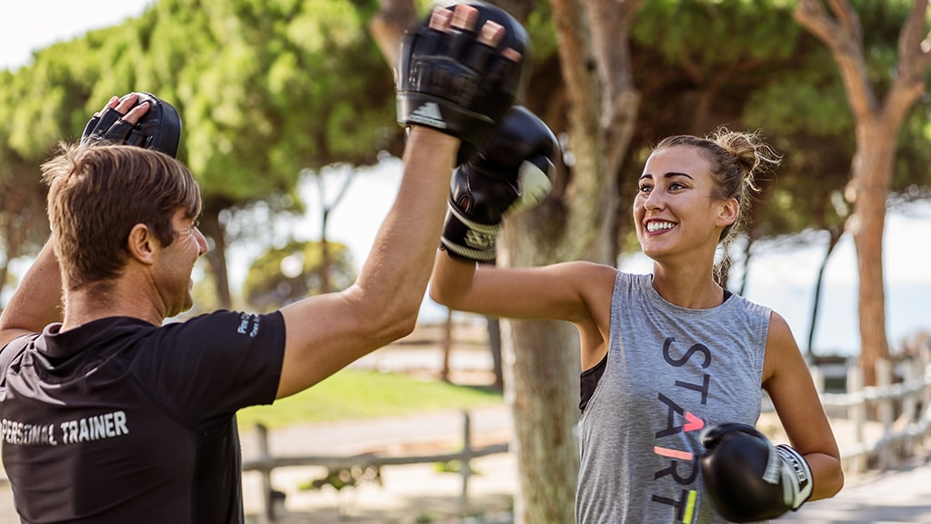 Pine Cliffs Retreat Boxing Circuit - Fitnessreisen für Reiseathleten