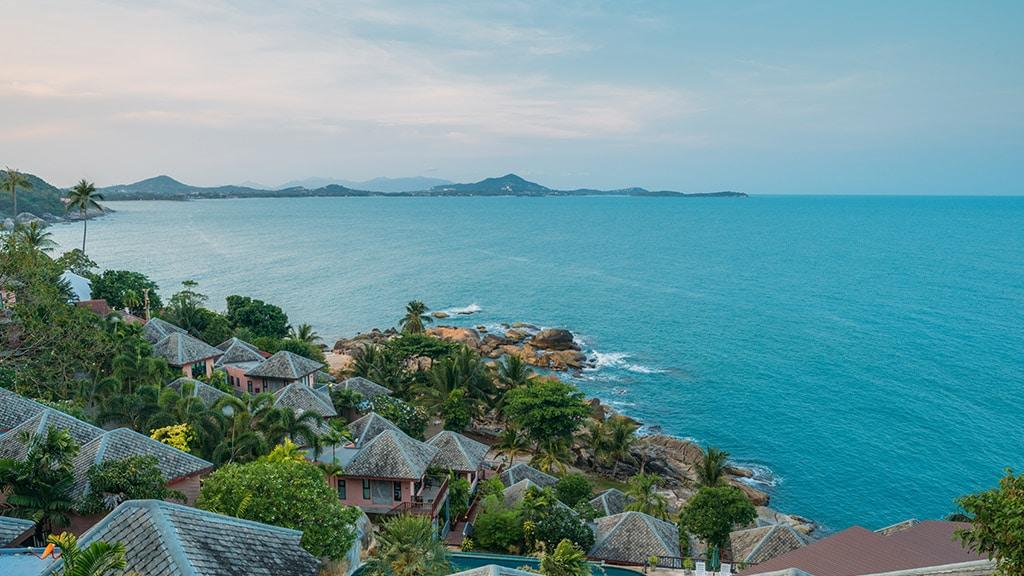 Fitnessurlaub Koh Samui - Superpro Samui Beach Landscape - Fitnessreisen für Reiseathleten