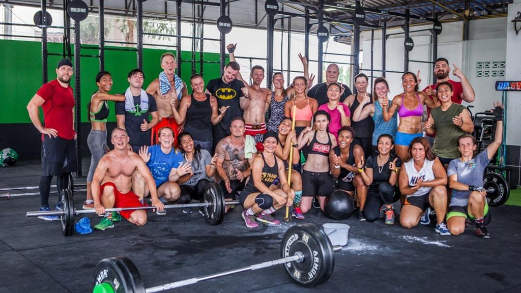 Fitnessurlaub Koh Samui - Superpro Samui CrossFit Gruppe - Fitnessreisen für Reiseathleten