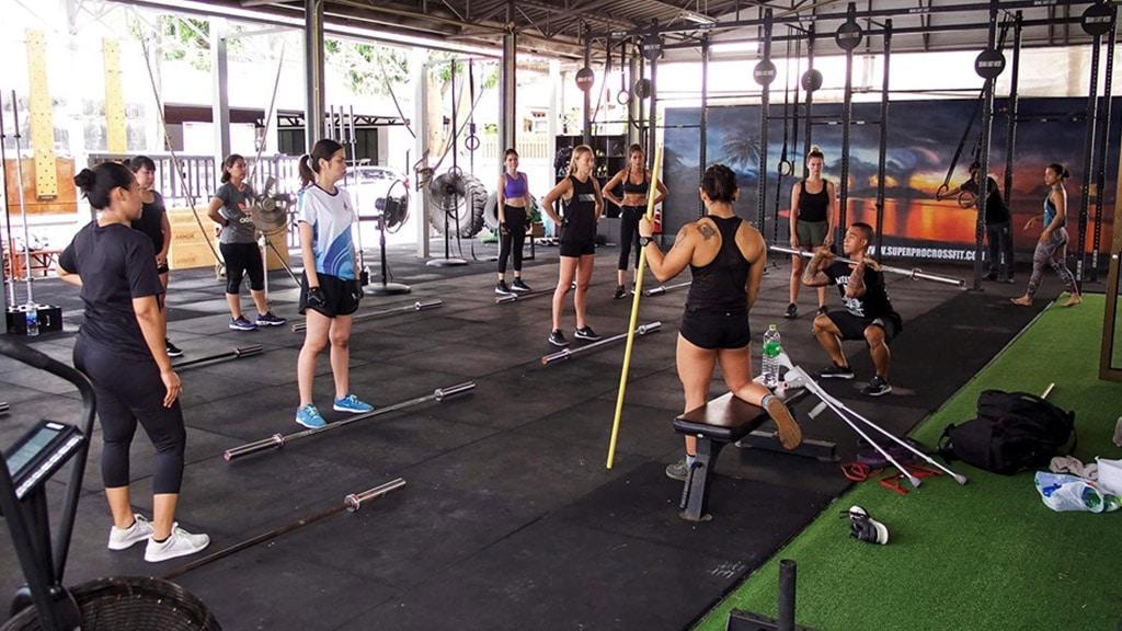 Fitnessurlaub Koh Samui - Superpro Samui CrossFit WOD - Fitnessreisen für Reiseathleten