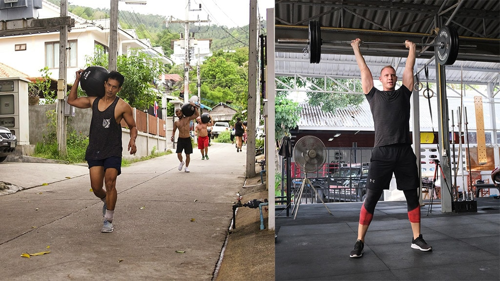 Fitnessurlaub Koh Samui - Superpro Samui Fitnesstraining - Fitnessreisen für Reiseathleten