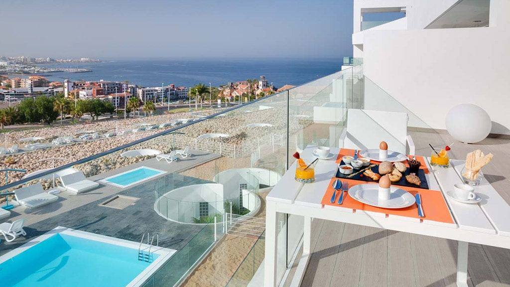 Baobab Suites - Suite Divinity XS Terrace - Fitnessurlaub für Reiseathleten