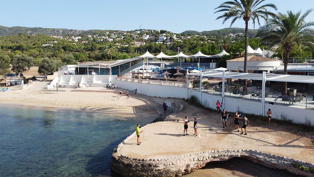 Beach Workout - Outdoor Bootcamp in Punta Negra - Fitnessurlaub Mallorca - Fitnessreisen für Reiseathleten