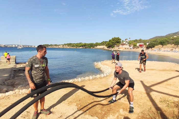 Bootcamp Mallorca: Bootcamp & Personal Training am Traumstrand von Santa Ponsa – Fitnessurlaub Mallorca