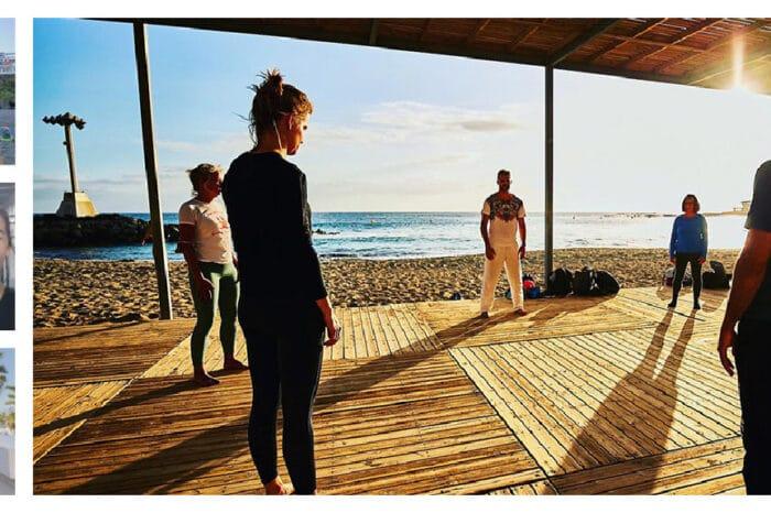 Strandworkouts & Yoga an der Südküste Teneriffas – Premium Paket – Fitnessurlaub auf Teneriffa (Spanien)