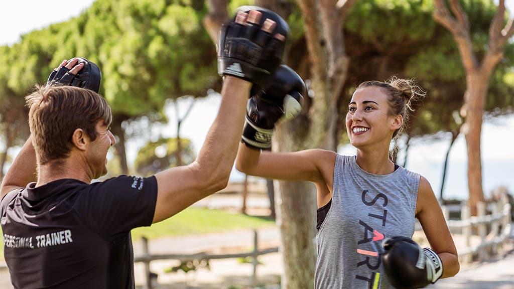 Boxing - Pine Cliffs - Fitnessurlaub Algarve - Portugal - Fitnessreisen für Reiseathleten