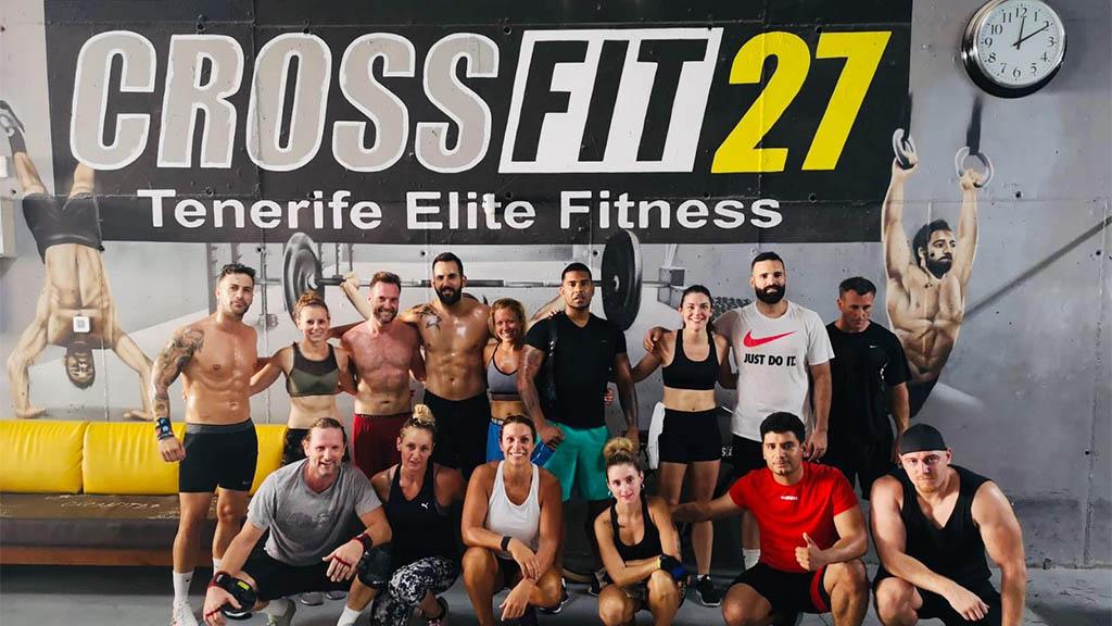 CrossFit 27 auf Teneriffa - Fitnessurlaub auf Teneriffa - Kanaren - Fitnessreisen für Reiseathleten
