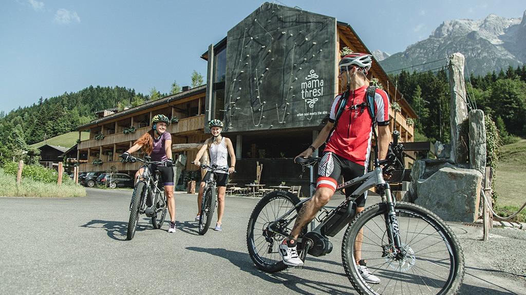 Fitness Retreat Österreich - Fitnessreisen für Reiseathleten - Fitnessurlaub Österreich im mama thresl mit Biken
